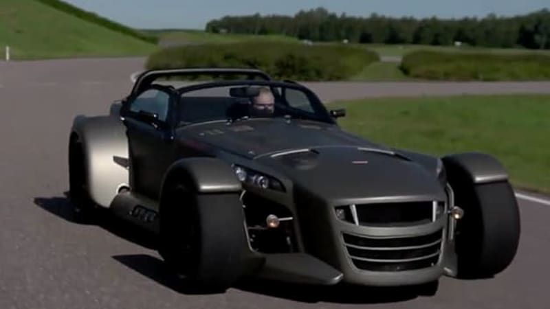 Meet Mr. Donkervoort and his fabulous flying machines