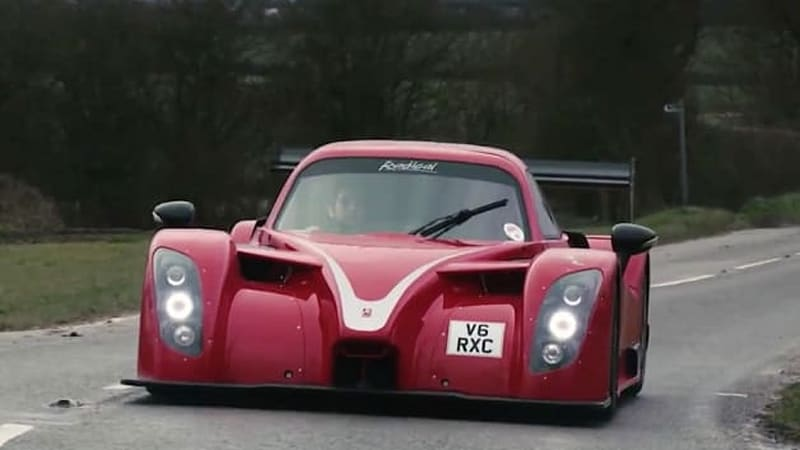 Radical RXC is a Mustang-hearted racecar for the road