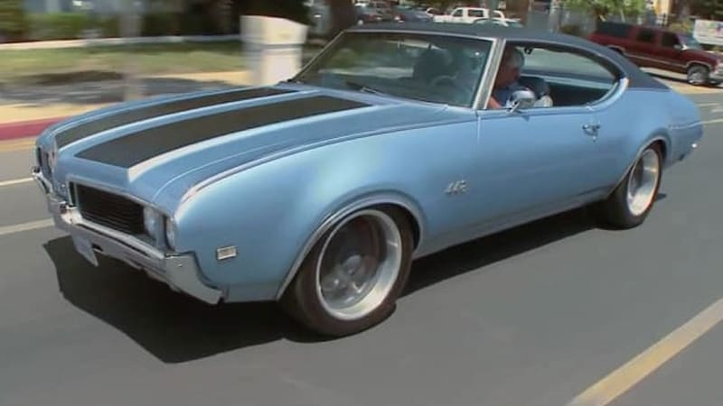 Jay Leno Tumbles In A Oldsmobile Autoblog