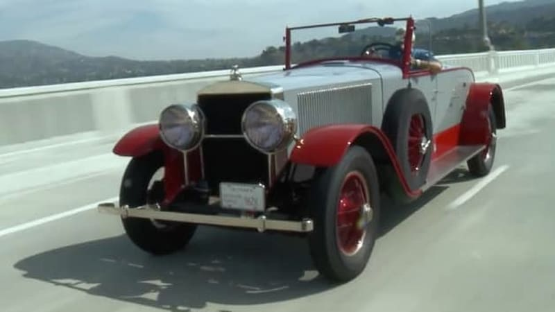 Leno's steam-powered 1925 Doble E-20 is fascinating