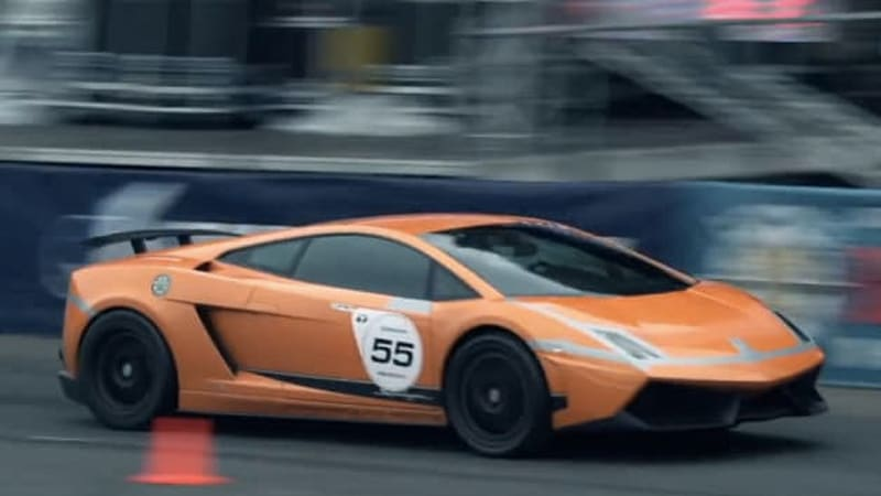 Yesterday We Covered A Crash At The Unlimited 500+ Drag Race In Moscow,  Featuring A Nissan GT R, But Today Brings Better News: A Lamborghini  Gallardo Making ...