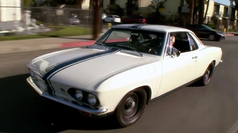 Jay Leno revisits Chevy Corvair legacy with 1966 Yenko Stinger