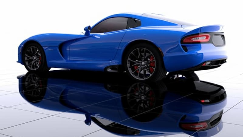 SRT holding contest to name new Viper color