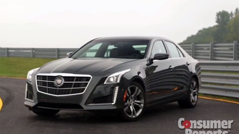 Consumer Reports Loves The 2014 Cadillac Cts Autoblog