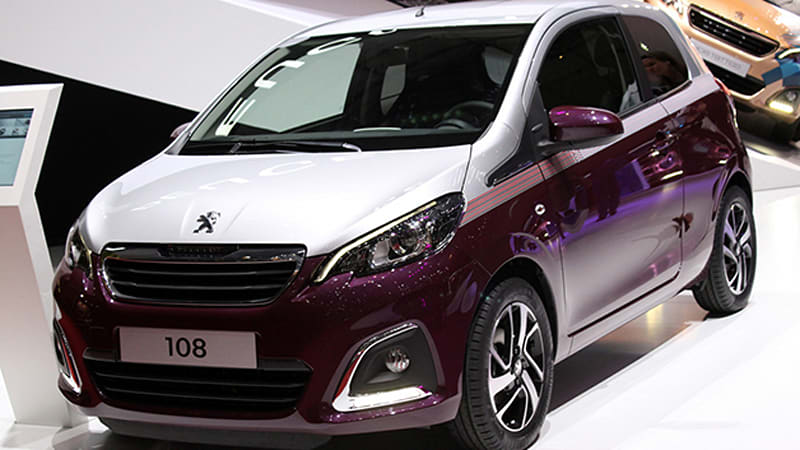 2018 peugeot 108. perfect 2018 peugeot 108 completes the trifecta of citron c1 and toyota aygo  platform  autoblog intended 2018 peugeot
