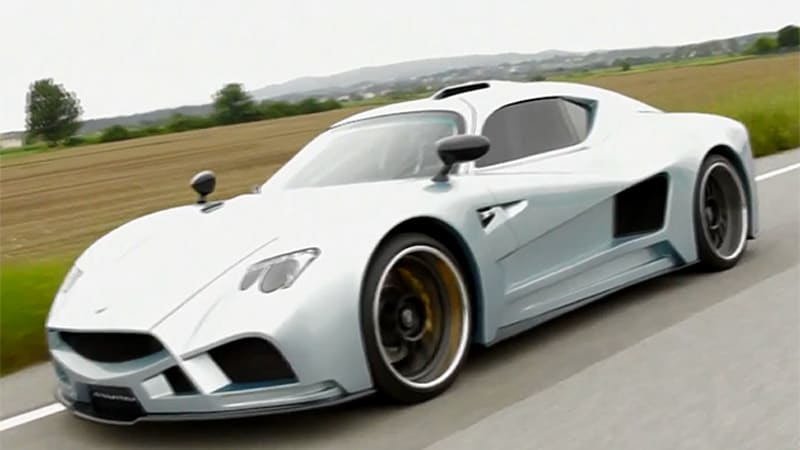 First running footage of the Mazzanti Evantra is here