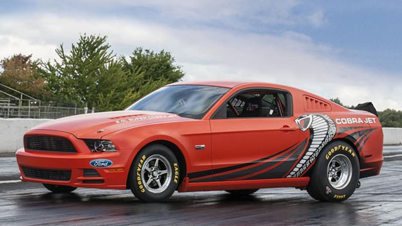 Mustang Cobra Jet >> Ford To Auction Mustang Cobra Jet Prototype For Charity W Video
