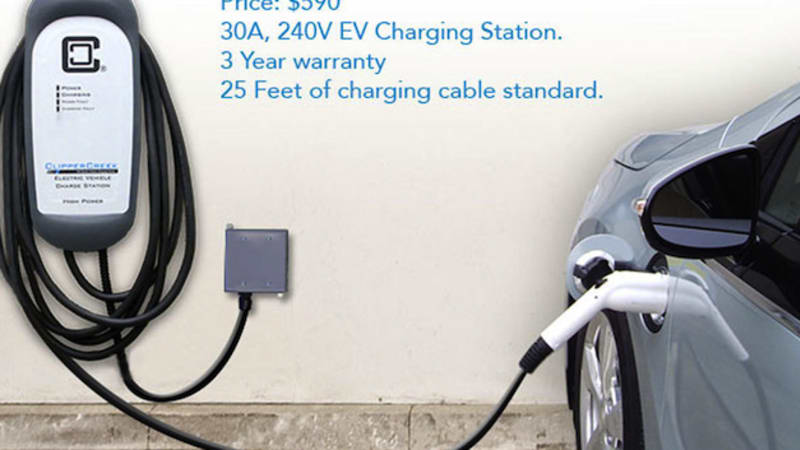 Clippercreek Introduces Low Cost Level 2 Home Charger For 590