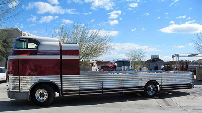 GM Futurliner hoping to become world's most expensive car hauler