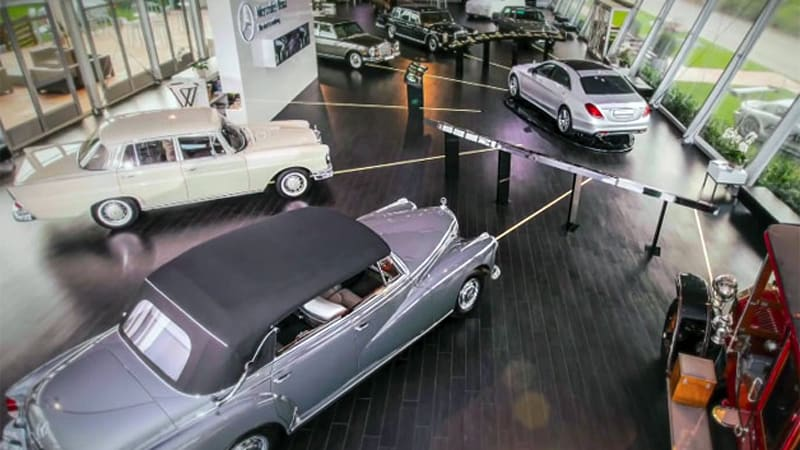 Mercedes gives a crash course in S-Class history