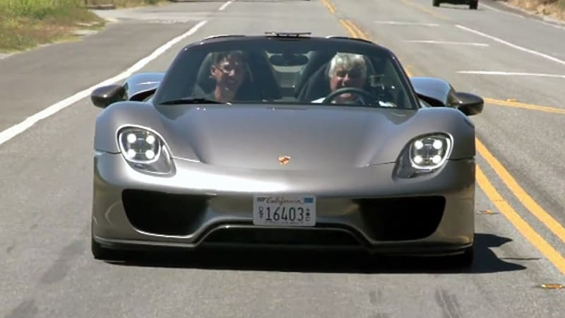Leno steals Porsche 918 from The Quail for latest Garage episode