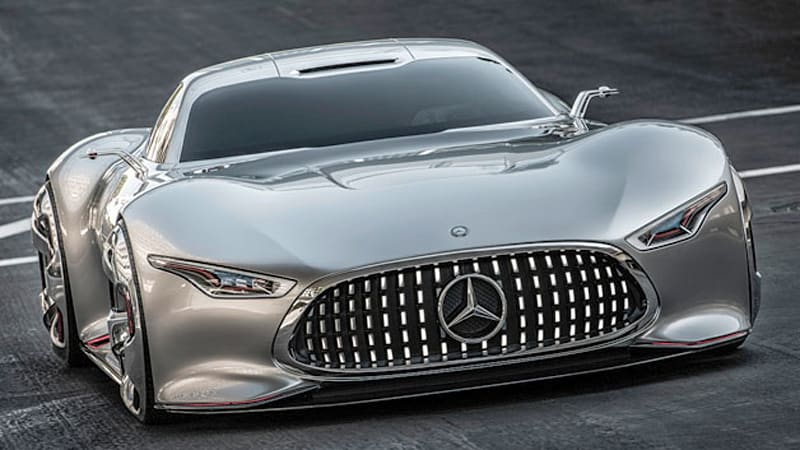 Mercedes amg vision gran turismo to see life as rebodied for Mercedes benz amg vision gt price