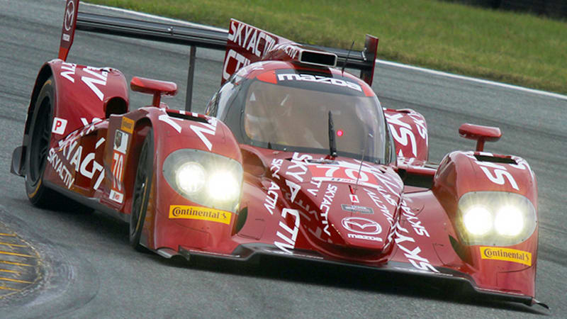 Mazda details diesel prototype at Daytona test