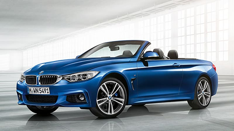 2014 BMW 4 Series drops its top, priced from $48,750* [UPDATE