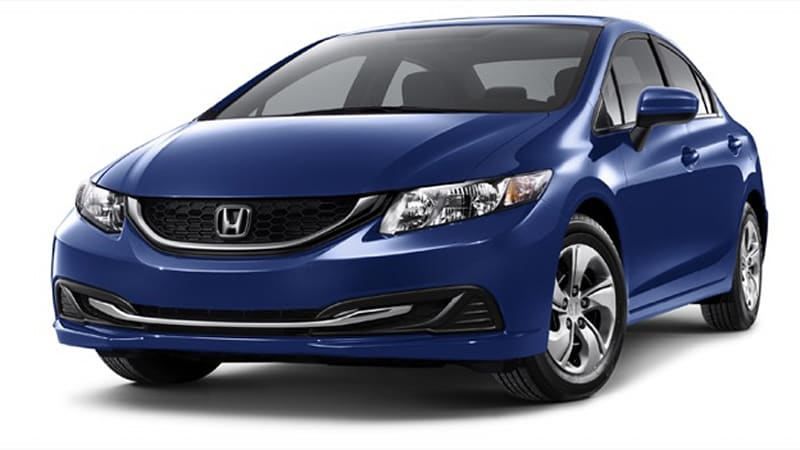 Honda Is Recalling Some 9,816 Civic LX Coupes And Sedans From The 2014 Model  Year Due To A Potential Tire Problem.