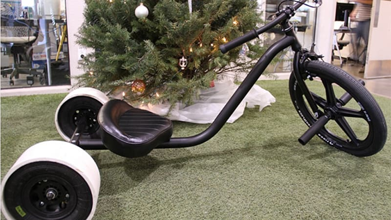 Local Motors' latest project is this adult drift trike