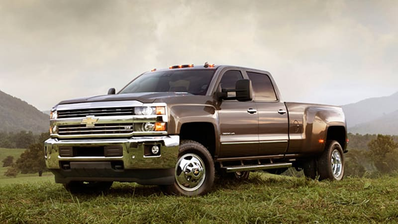 2015 Chevy Silverado Gmc Sierra Heavy Duty Trucks Unveiled