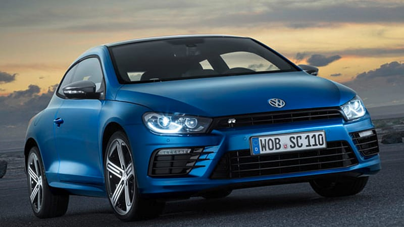 VW Updates Scirocco With Revised Styling New Engines
