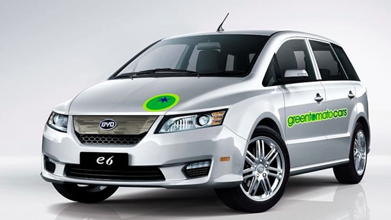 Green Tomato Cars, BYD scrap electric taxi deal for London | Autoblog