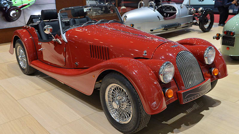 2014 morgan plus 4 is slightly less behind the times but no less charming autoblog