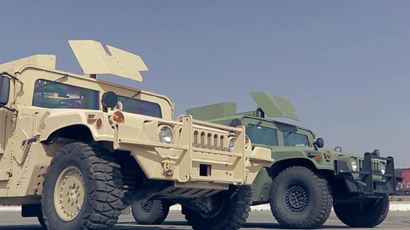 Motor Trend Humvee challenge is a brawl in the desert