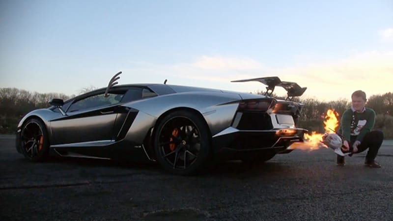 Is it possible to cook a turkey with a Lamborghini Aventador?