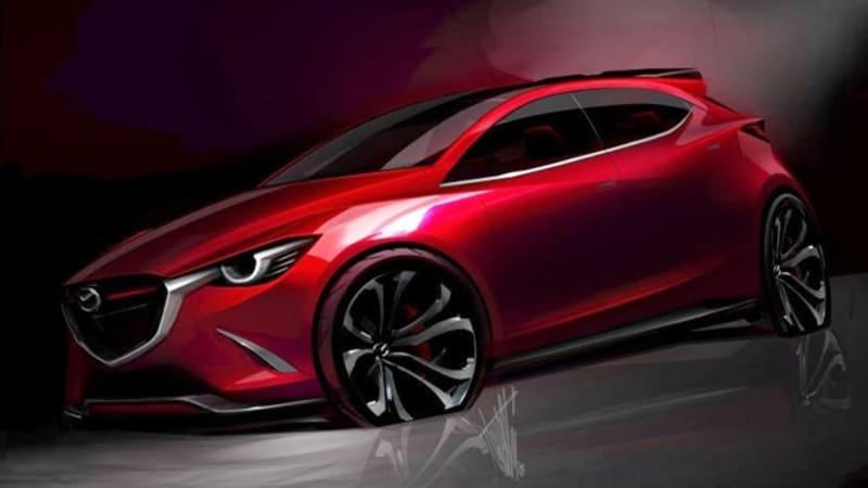 Mazda Hazumi Concept shows up ahead of Geneva - Autoblog