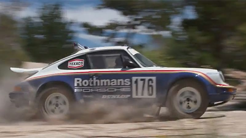 Porsche revisits the 911's dirty side with rally history film