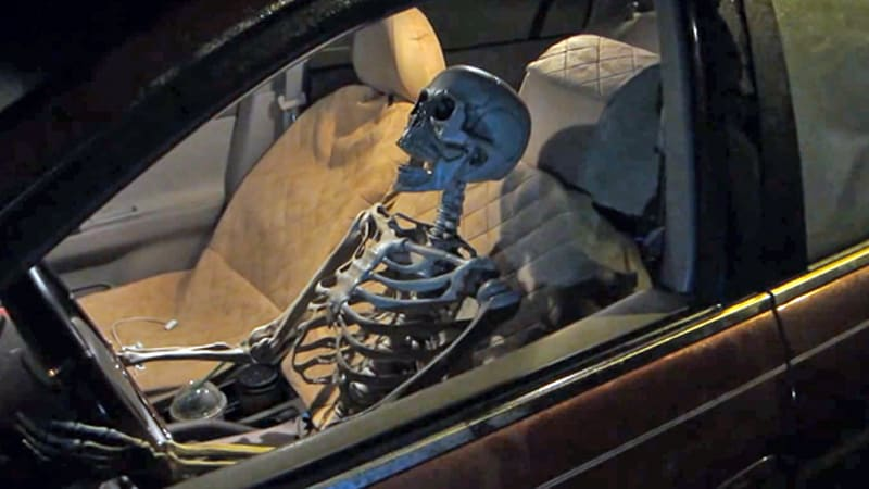 Drive-thru skeleton prank is both juvenile and hilarious