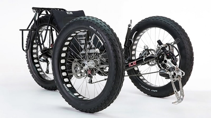 Will this be the first trike ever to reach the South Pole?