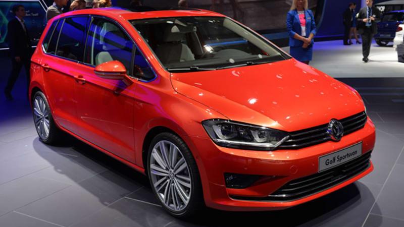 2014 Volkswagen Golf Sportsvan Is A Tall Order Autoblog