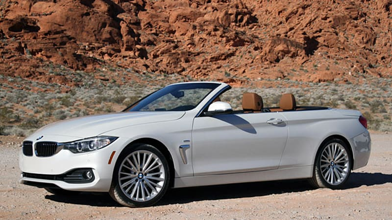 2014 bmw 4 series convertible w video autoblog. Black Bedroom Furniture Sets. Home Design Ideas