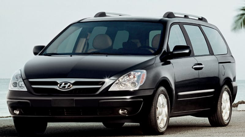 Hyundai Has Increased Its Quality By Leaps And Bounds In Recent Years But We Re Not Sure The Entourage Minivan Is Best Representation Of Brand