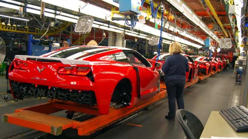 Corvette Factory Tour >> Tour The Chevy Corvette Stingray S Bowling Green Plant With Us