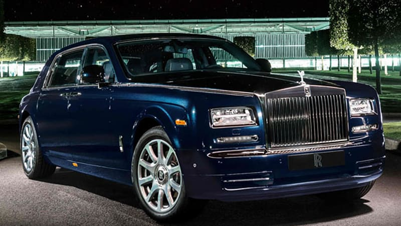 rolls royce looks to the heavens with diamond encrusted celestial phantom autoblog. Black Bedroom Furniture Sets. Home Design Ideas