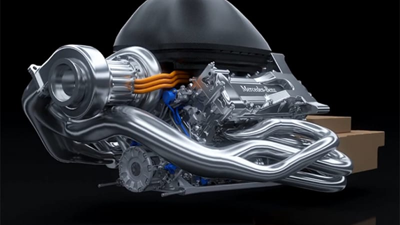 Get acquainted with Mercedes' F1 'Power Unit'