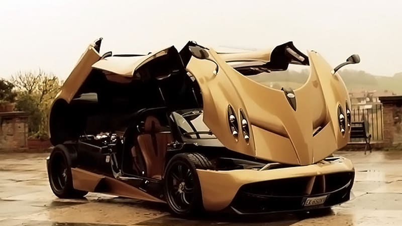 Pagani Huayra explores Italian countryside and looks amazing in the process