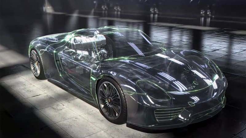 Porsche Digitally Dissects Its 918 Spyder For Your Viewing Pleasure
