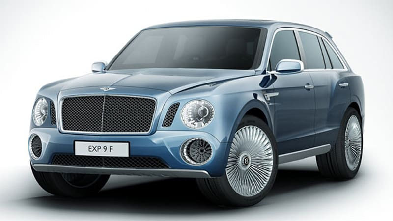 Bentley targeting Range Rover with 12-cylinder SUV