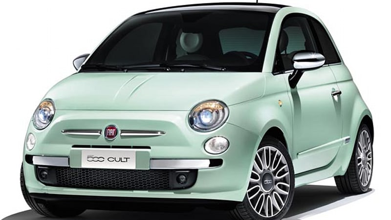 fiat updates euro spec 500 with new equipment cult trim autoblog. Black Bedroom Furniture Sets. Home Design Ideas