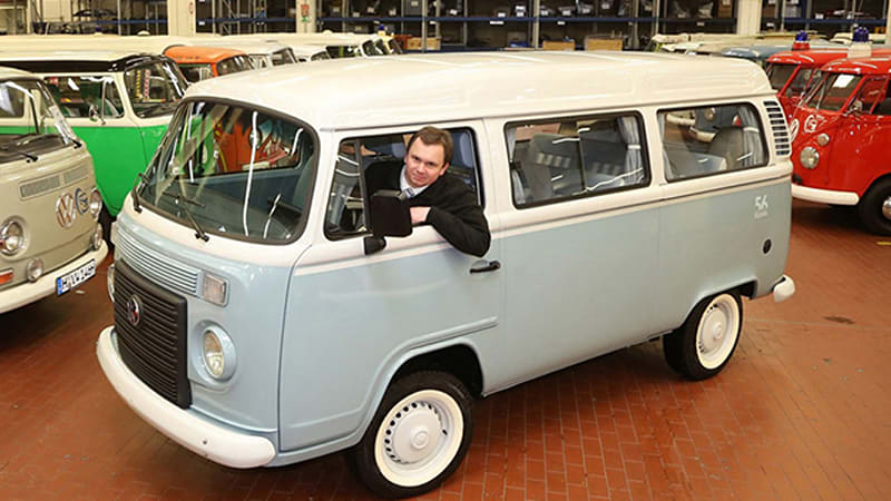 d968465554 Last VW bus ever made arrives at final destination - Autoblog