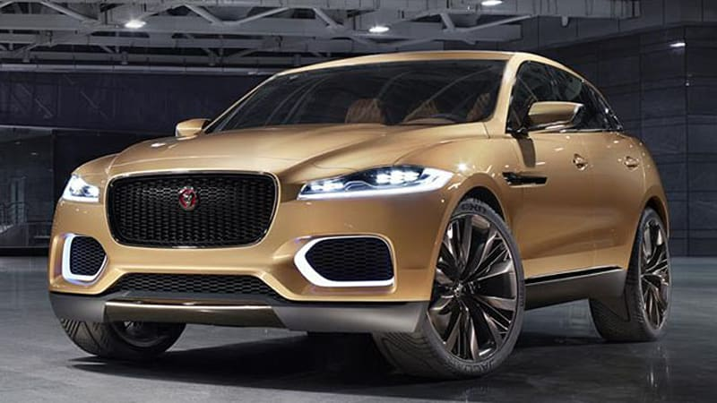 Jaguar C X17 Resurfaces In China With Gold Finish Five Seat Cabin