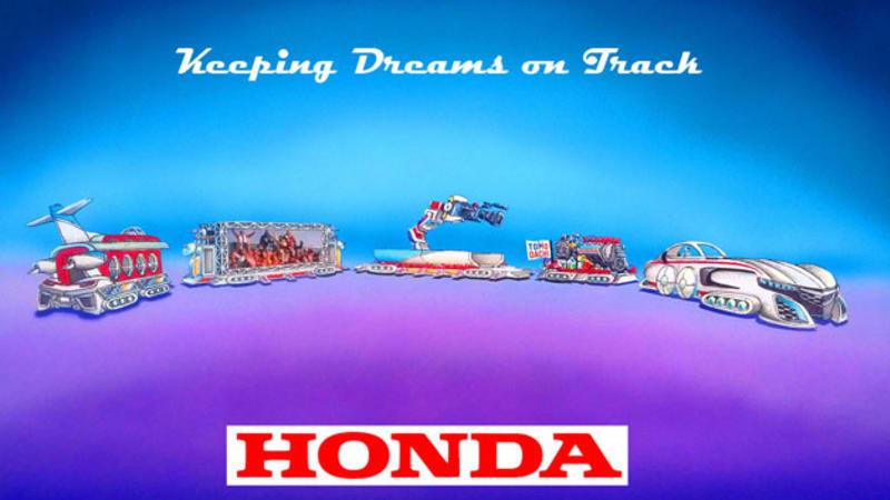Honda gunning for world's longest Rose Parade float