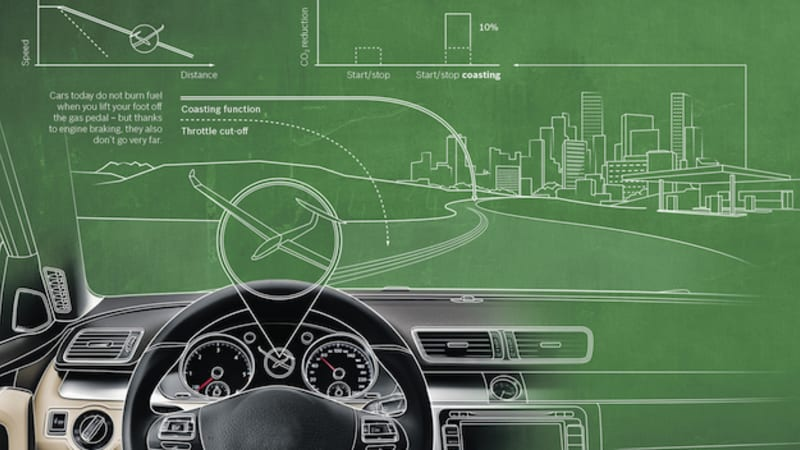 Bosch Says New Stop Start Coasting Hybrid Tech Can Cut Fuel Use By