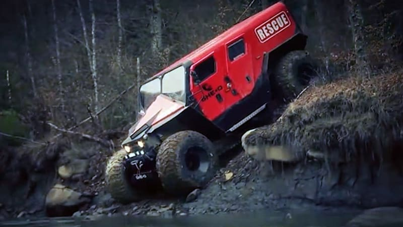 Meet Romania's awesome off-road fire and rescue truck