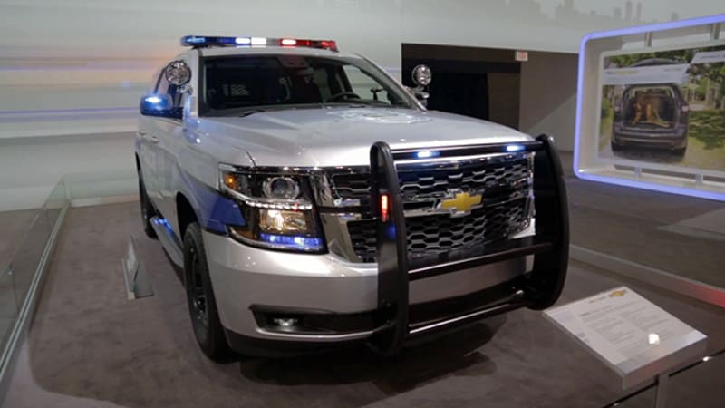 A closer look at the 2015 Chevy Tahoe PPV