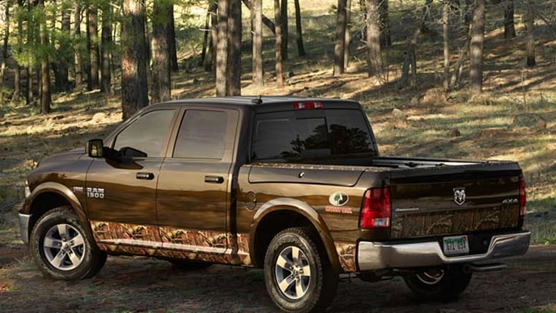 Ram 1500 Mossy Oak Edition ready to hit the woods | Autoblog