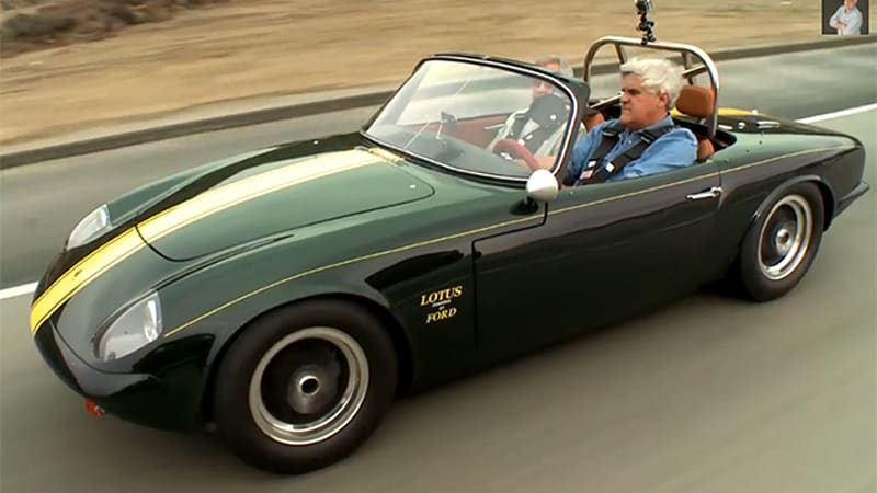 Jay Leno goes old school with 1966 Lotus Elan 26R - Autoblog