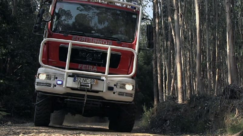 Watch out, Romania! Portugal makes sweet off-road fire trucks, too