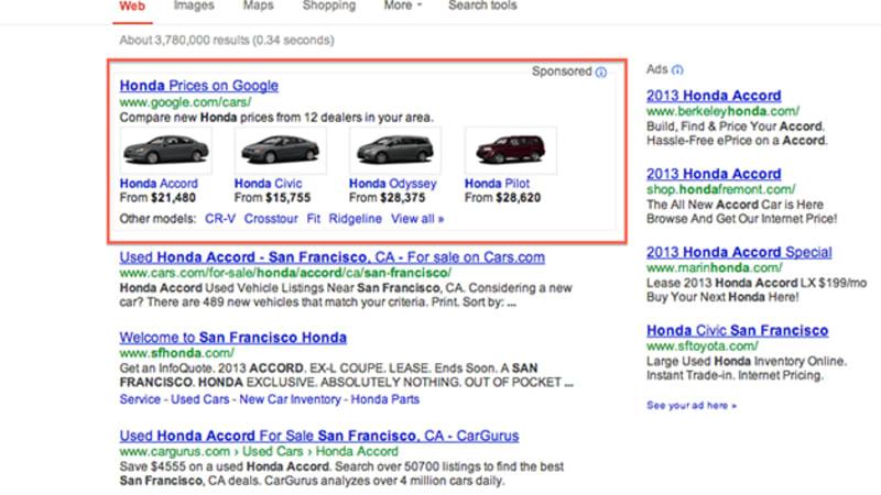 Google Cars test shopping program shuts down | Autoblog